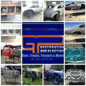 GP Restoration and Blasting Cars Trucks Tractors and More